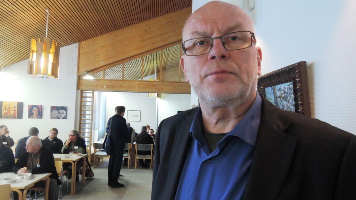 Kalatalouspäällikkö Pentti Pasanen