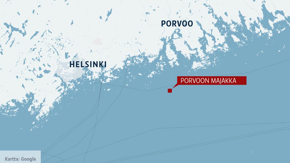 ВФинском заливе судно потерпело крушение, пропали два человека