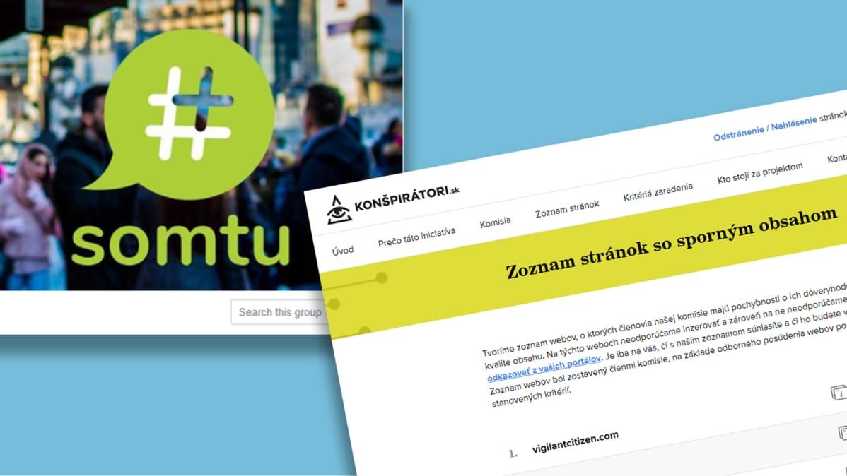 Kuvakaapaukset Somtu -facebook sivu ja  conspiratori sivusto.