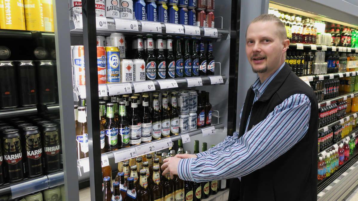Sami Spets, K-Supermarket Länsiväylä.