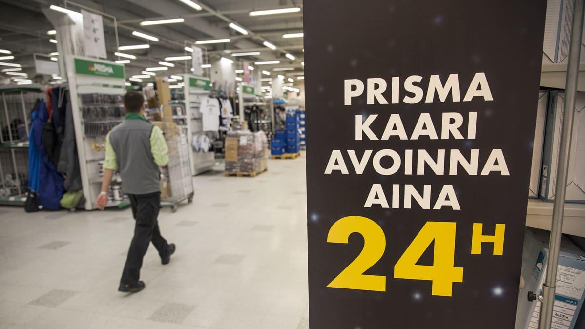 Prisma Kaari 24h myymälä
