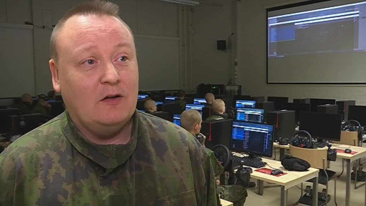 Insinöörimajuri Lasse Lahdenmaa