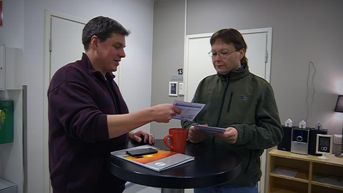 Jaakko Säntti ja Kai Heinoja