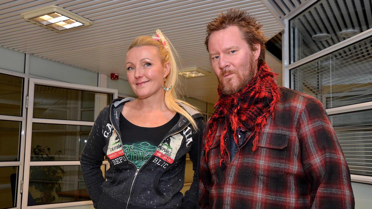 Mari ja Jouni Hynynen