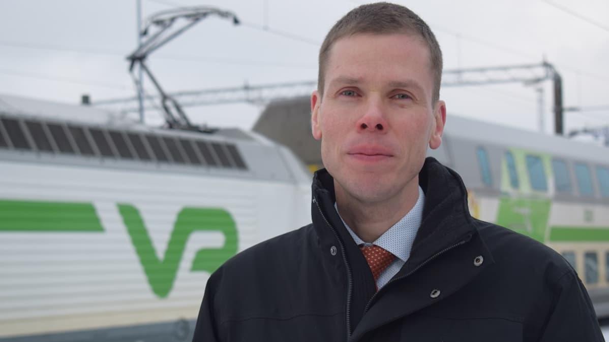 Edunvalvontapäällikkö Janne Virtanen, Varsinais-Suomen liitto.