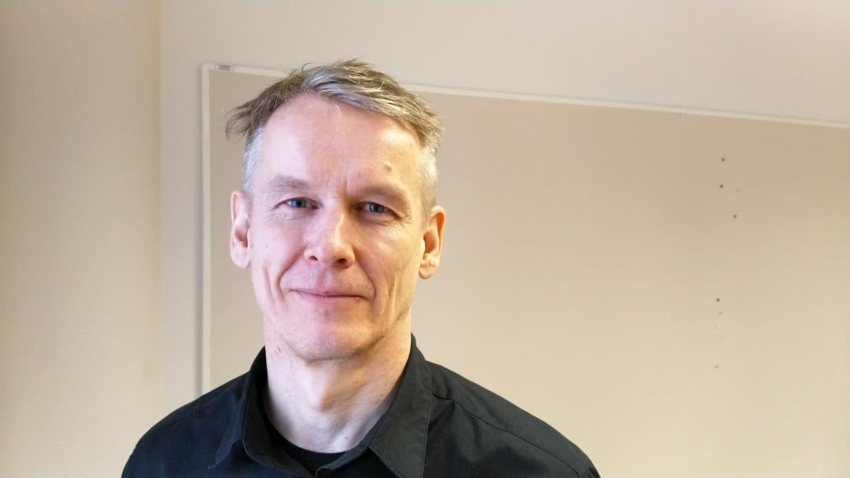 Liiketoimintapäällikkö Jouko Haapoja Kokkolan Energiasta.