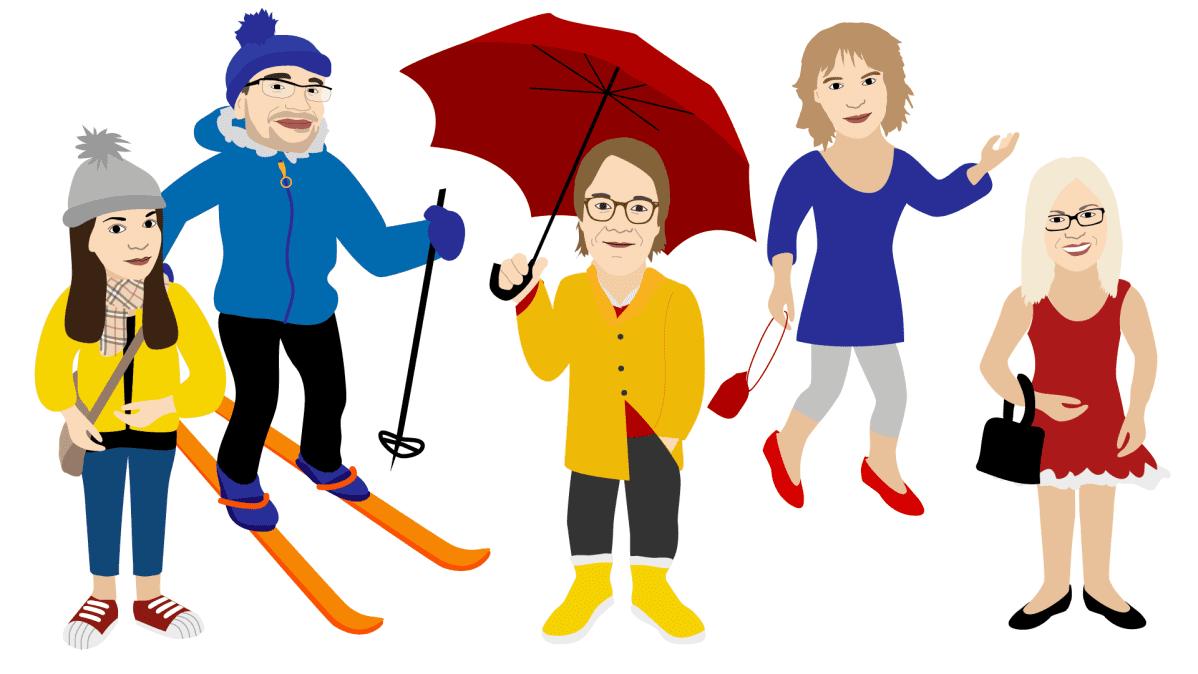 Testaa, missä päin Suomea on sinulle sopivin sää?