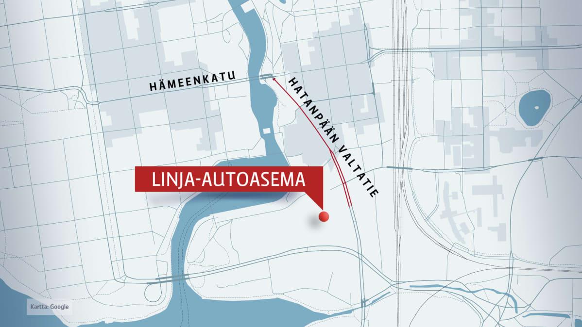 Tampereen Ratikka Voi Kulkea Linja Autoasemalle Jo Vuonna 2021