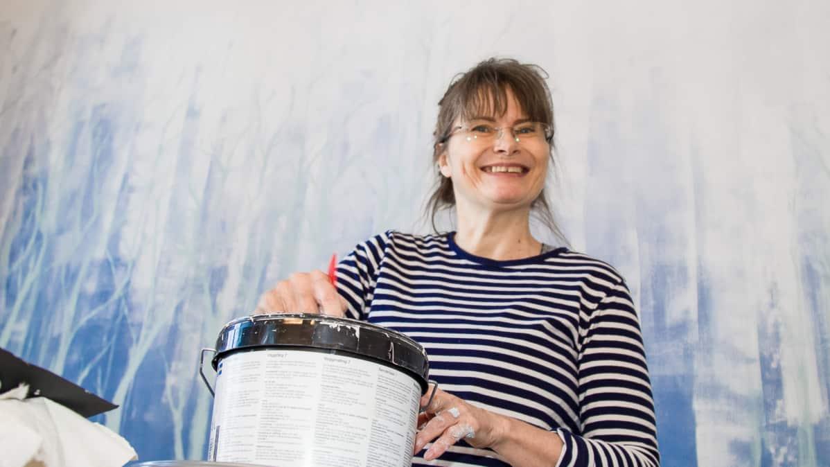 Nina Jansson, kuvataiteilija.