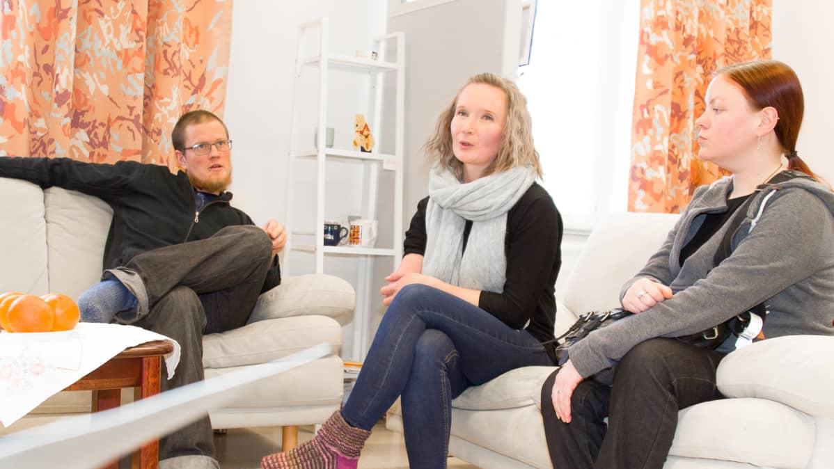 Kuntouttava työtoiminta, Katja Kuorikoski