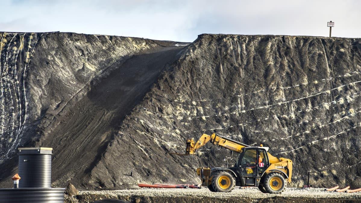 Talvivaaran kaivosalue Sotkamossa.