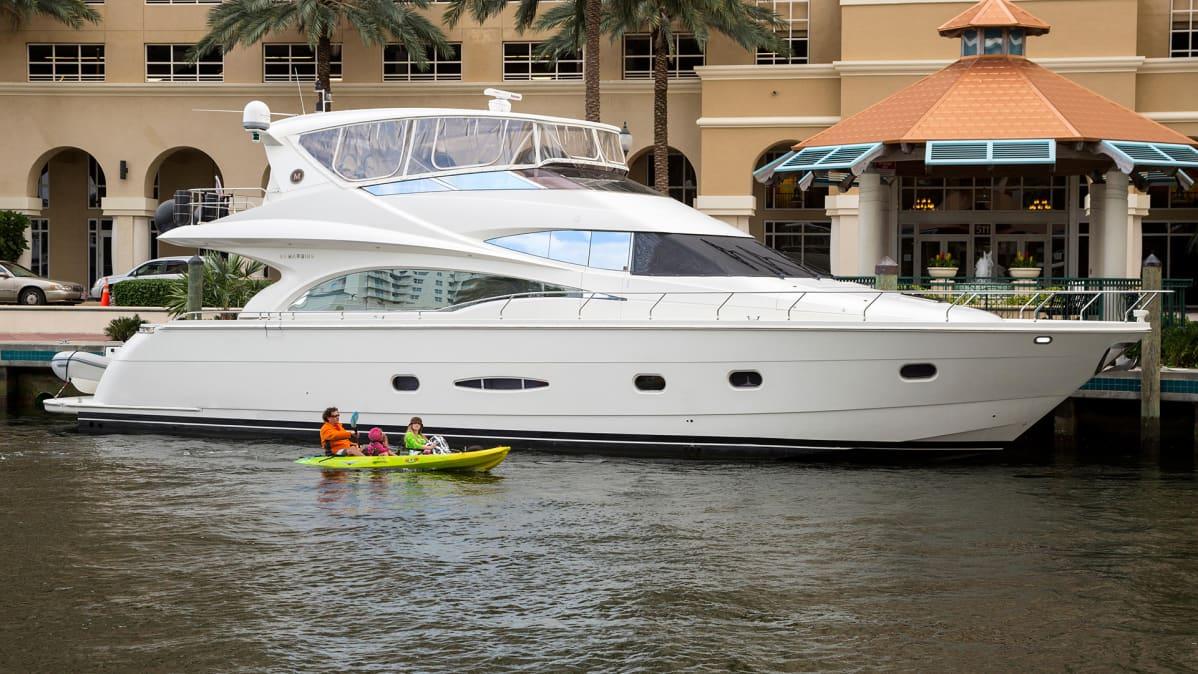 Veneitä Ft. Lauderdale, Florida.