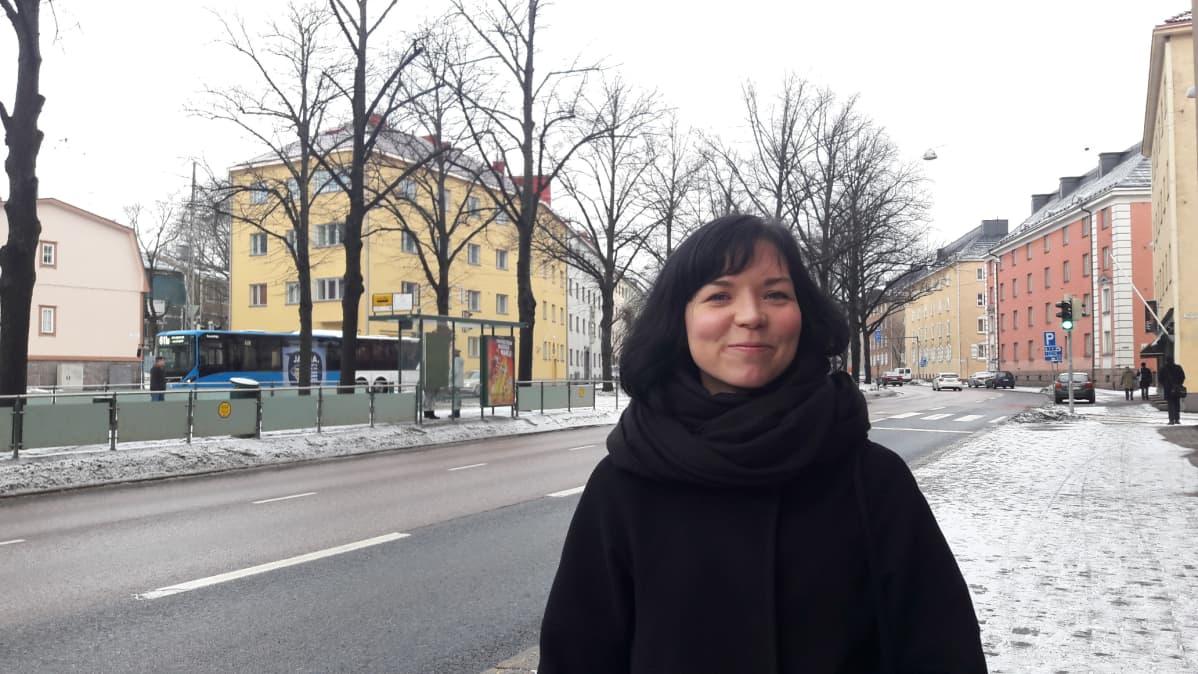Aikuisten partioryhmän perustaja Jenni Huovinen