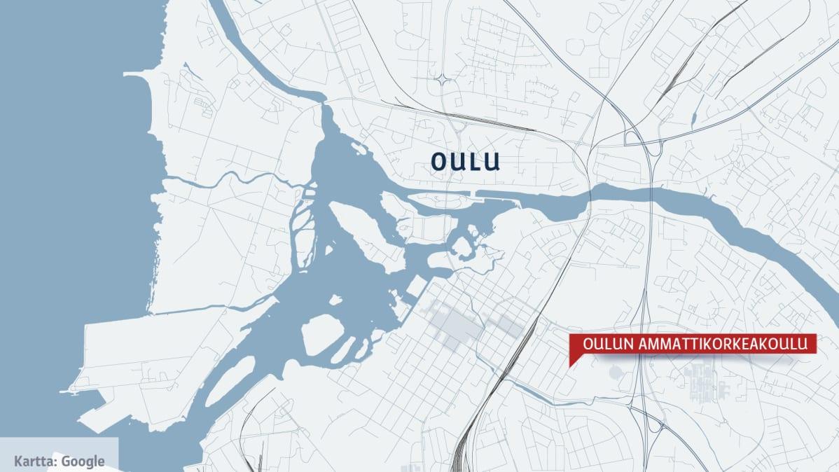 Oulun kartta