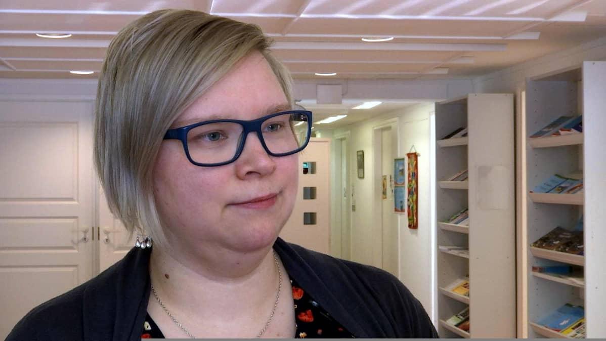 Tiia Saatio vt. lastentarhanopettaja, vástideaddji mánáidgárdeoahpaheaddji Enontekiö Eanodat 20.3.2018