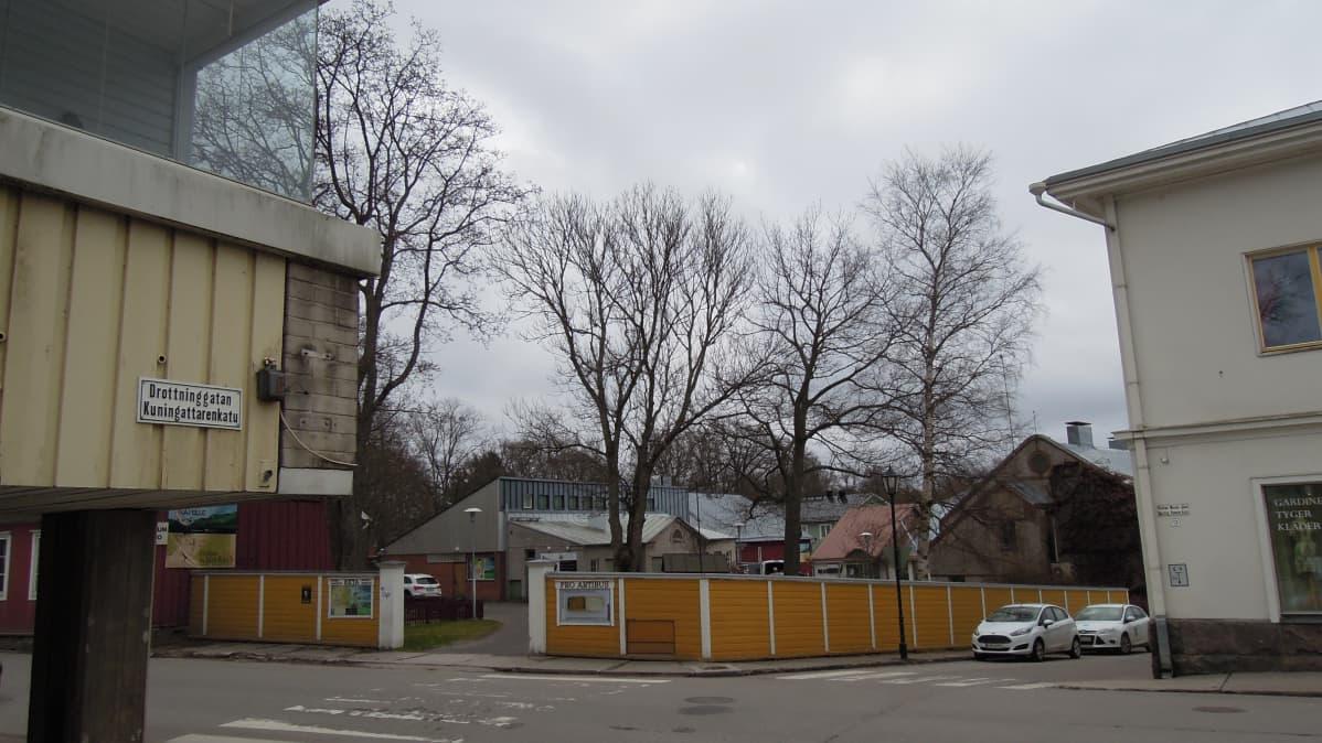 Uusi museorakennus on tulossa Tammisaareen Kustaa Vaasan kadun ja Kaivokadun kulmaukseen.