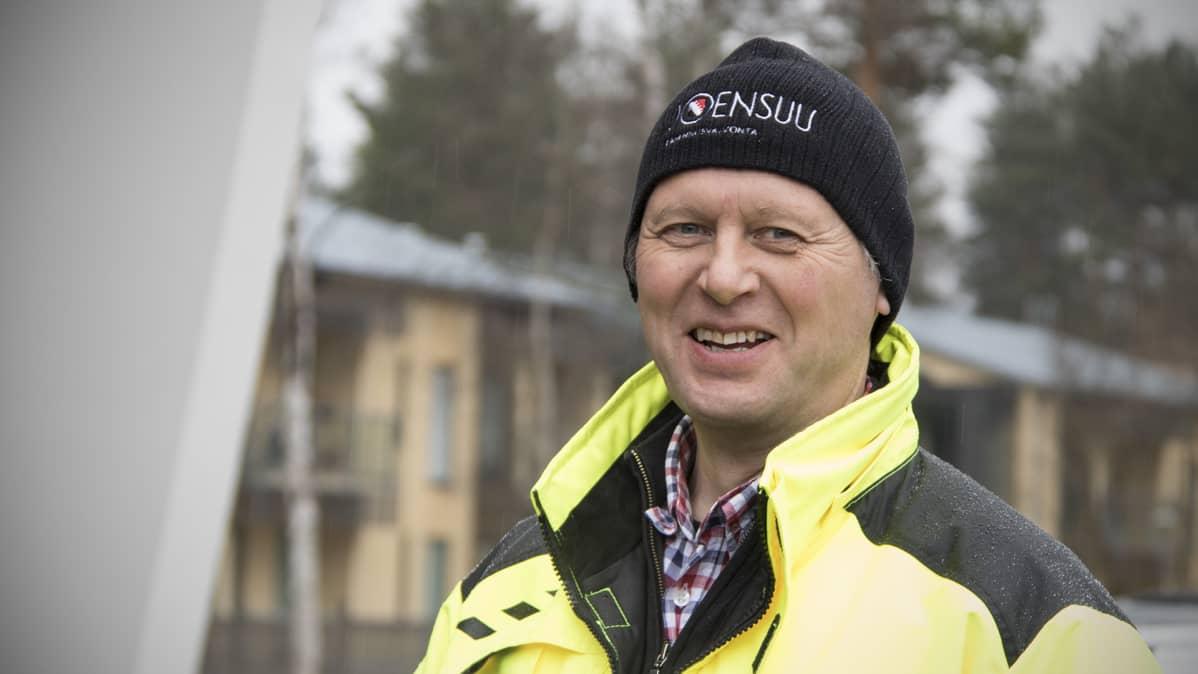 Rakennustarkastaja Jukka Hyttinen