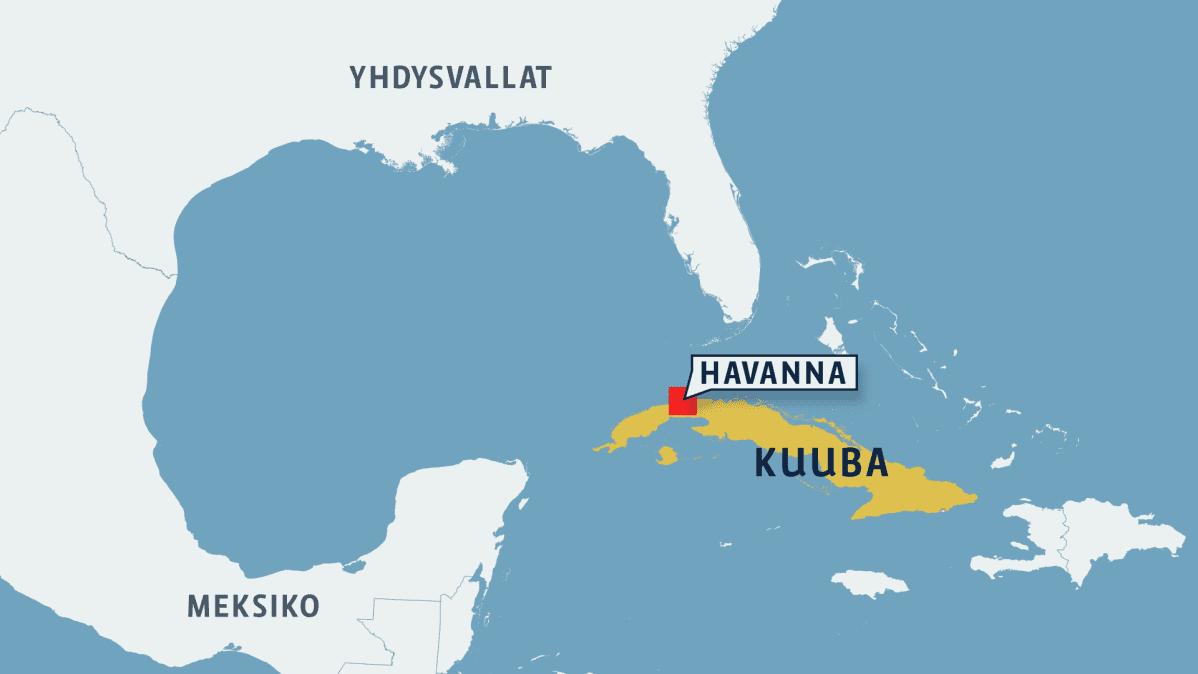 Kuuban kartta.