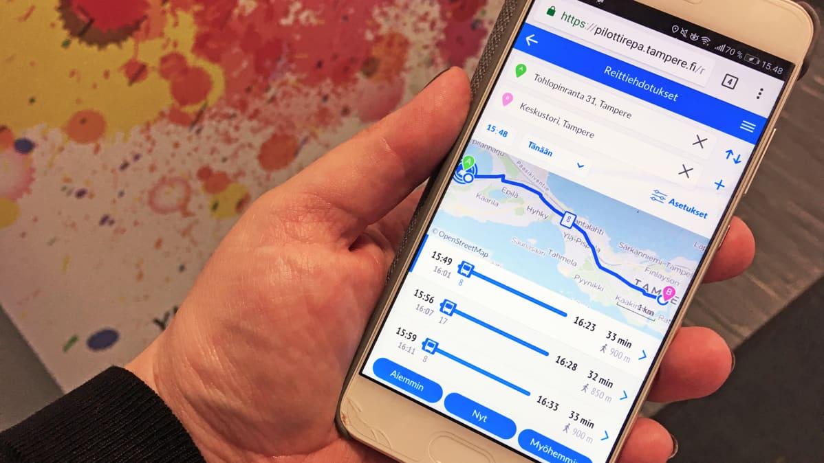 Nyssen digipalvelut uudistuvat: uusi reittiopas ja mobiililippu aloittavat uudistusten sarjan