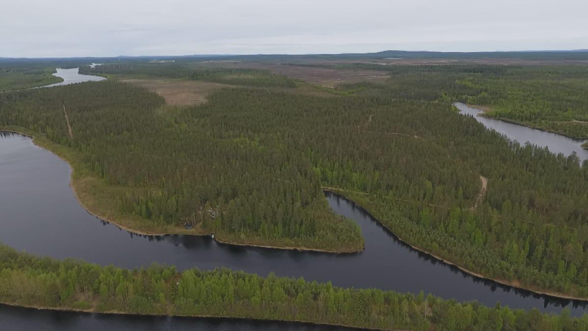 ASV Arctic Smart Village kaavailee älykylää Kitisen rantaan kymmenisen kilometriä Sodankylän kirkolta etelään.