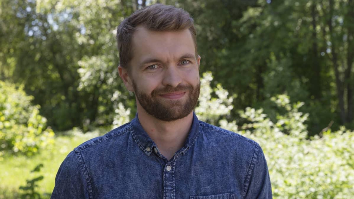 Juha Huttunen, myyntijohtaja, Pohjois-Savon Metsänhoitoyhdistys