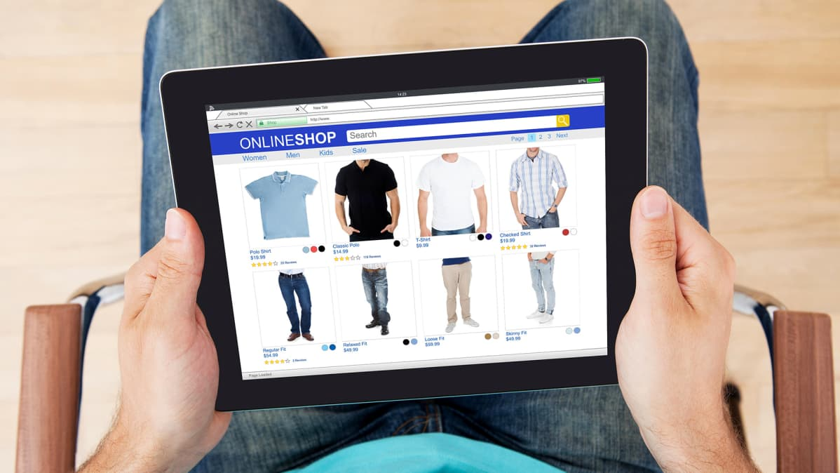 mies online-shoppailee