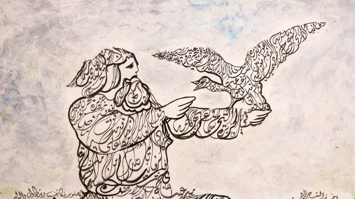 Kamil Dow Kalevala kalligrafia Kuhmo