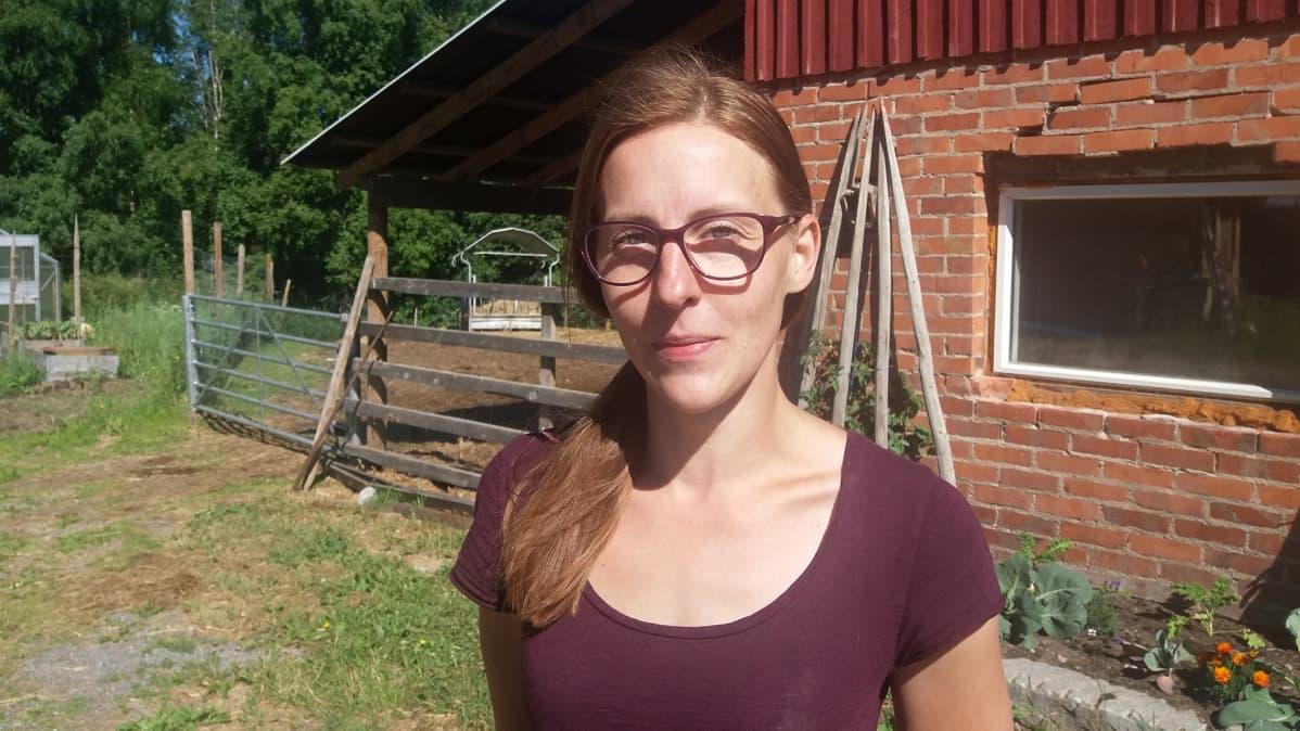 Maatalousyrittäjä Sanna Tahlo