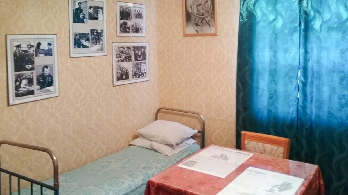 .Gagarinin talo Baikonurissa.