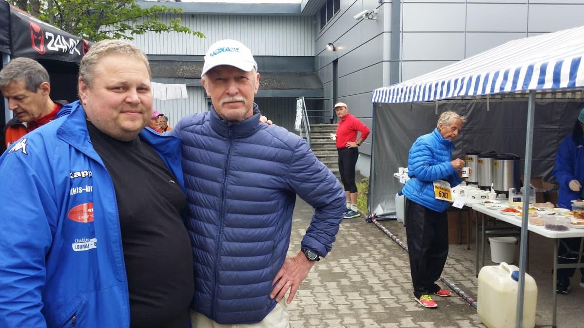 Antti Oksanen ja Seppo Leinonen