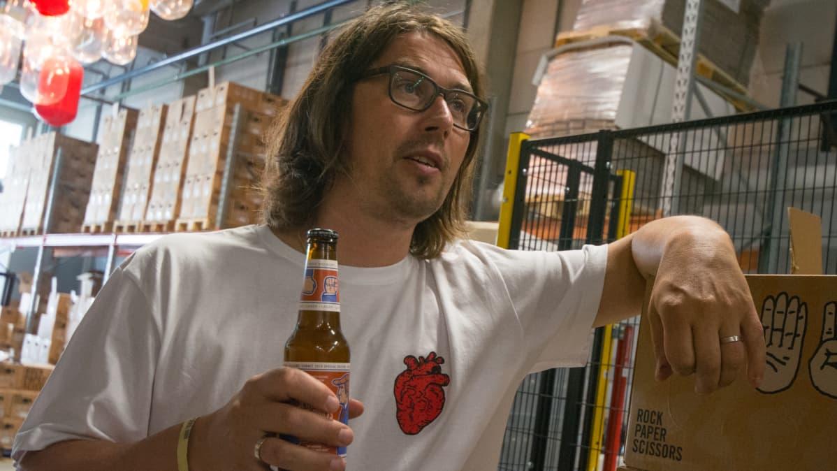 toimitusjohtaja Samuli Huuhtanen, RPS Brewing