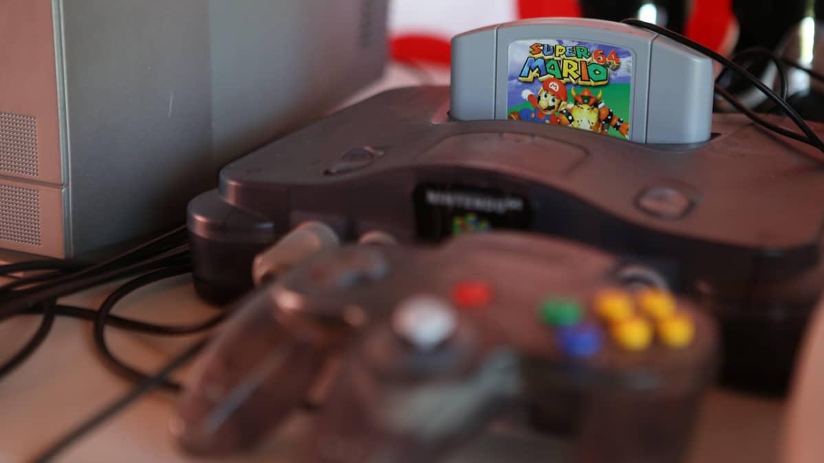 Nintendo 64 julkaistiin euroopassa vuonna 1997.