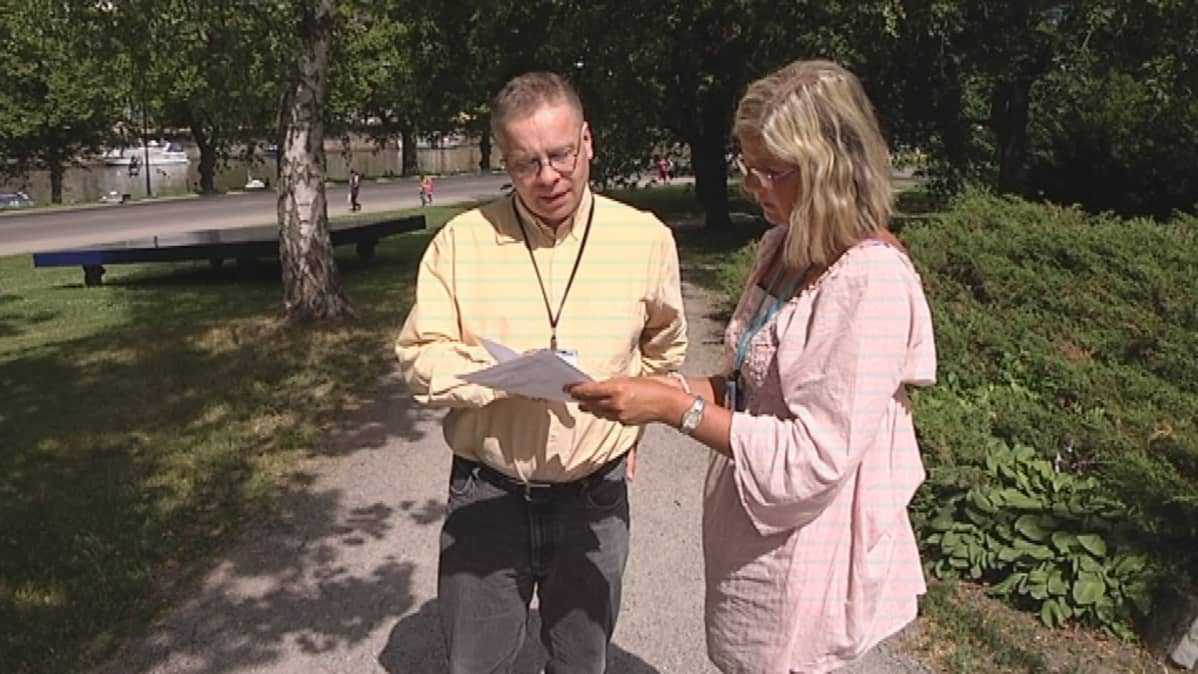 Lakimies Heikki Tarvoselle vuokra-asunnonhakuun liittyvät toimistomaksut ovat tuttuja.