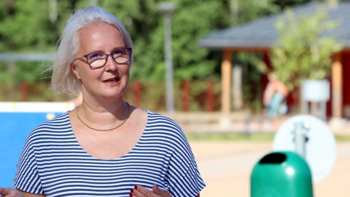 Mäntyharjun kunnan sivistysjohtaja Suvi Pirnes-Toivanen