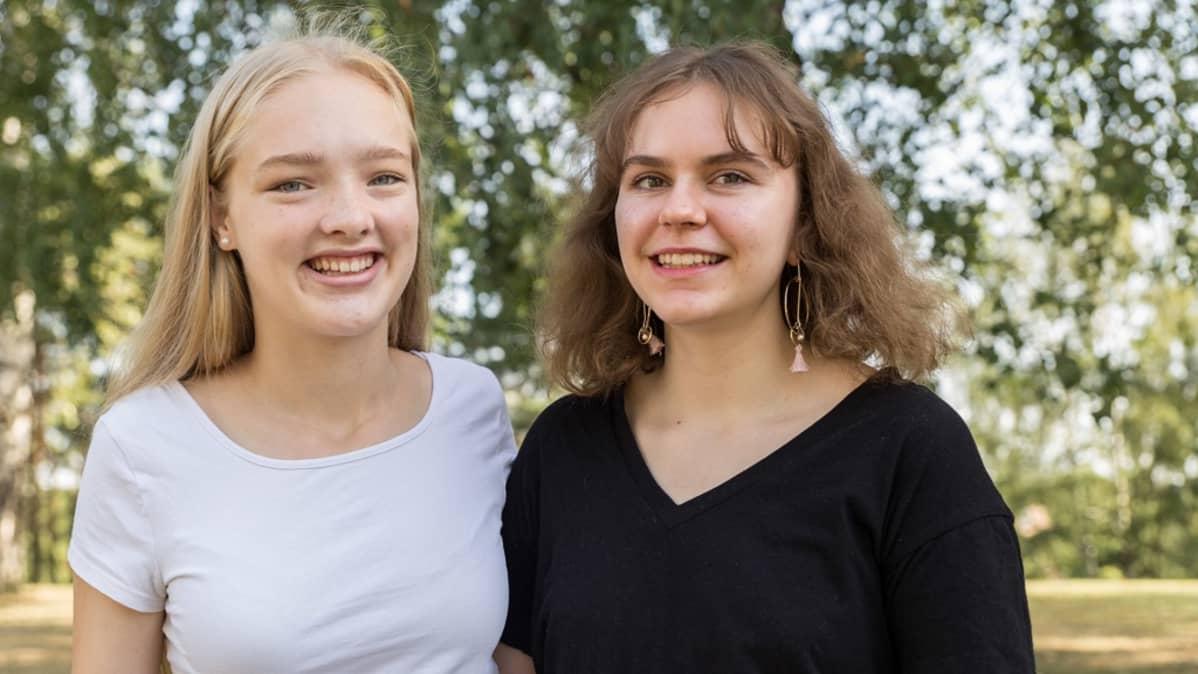 Jenni Jämsä ja Mairi Liukko