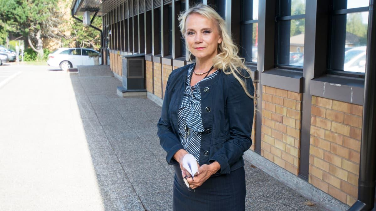 Rautalammin kunnanjohtaja Anu Sepponen