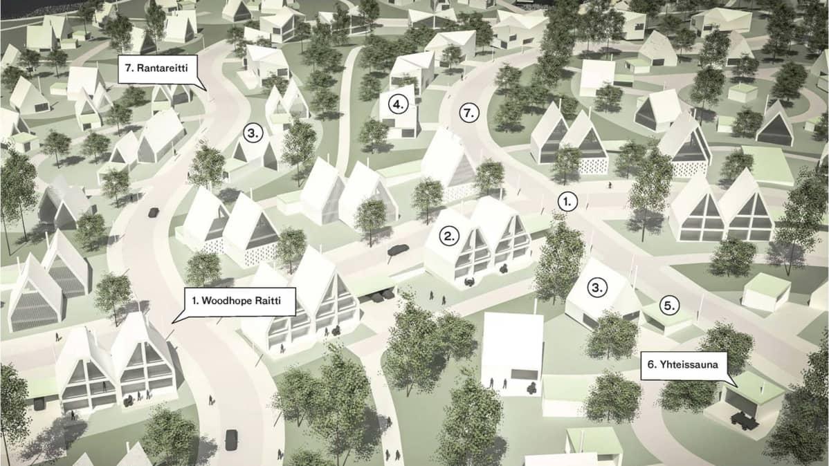 Woodhope Villagen havainnekuva