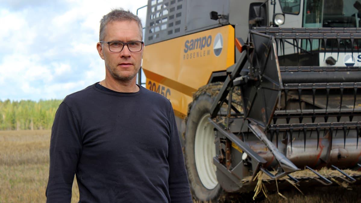 Viljelijä Juha Perätalo