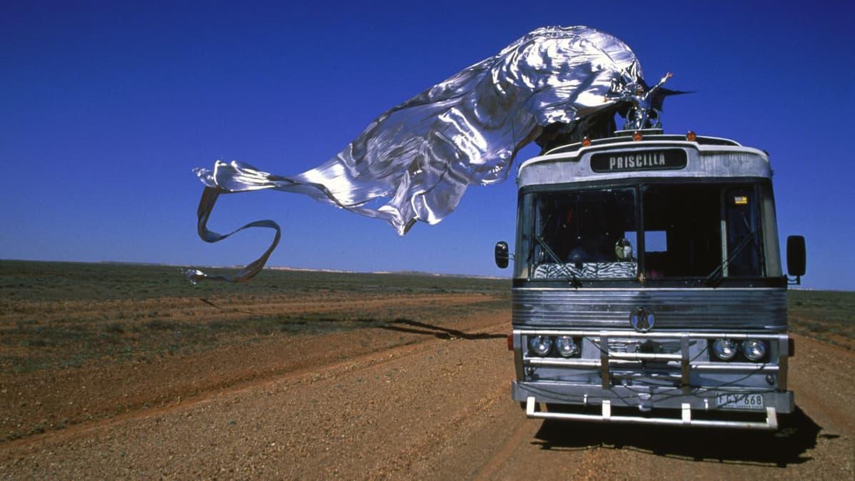 The Adventures of Priscilla, Queen of the Desert -elokuvan lehdistökuva.