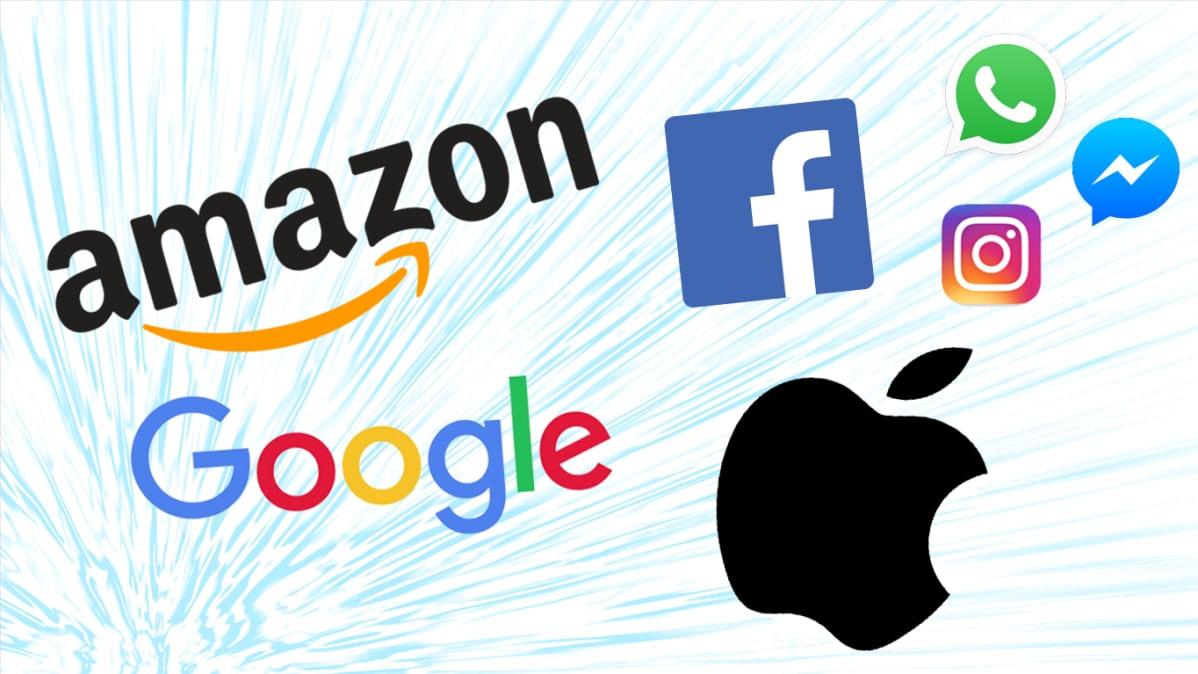 Logokimara Amazon Facebook Apple Google