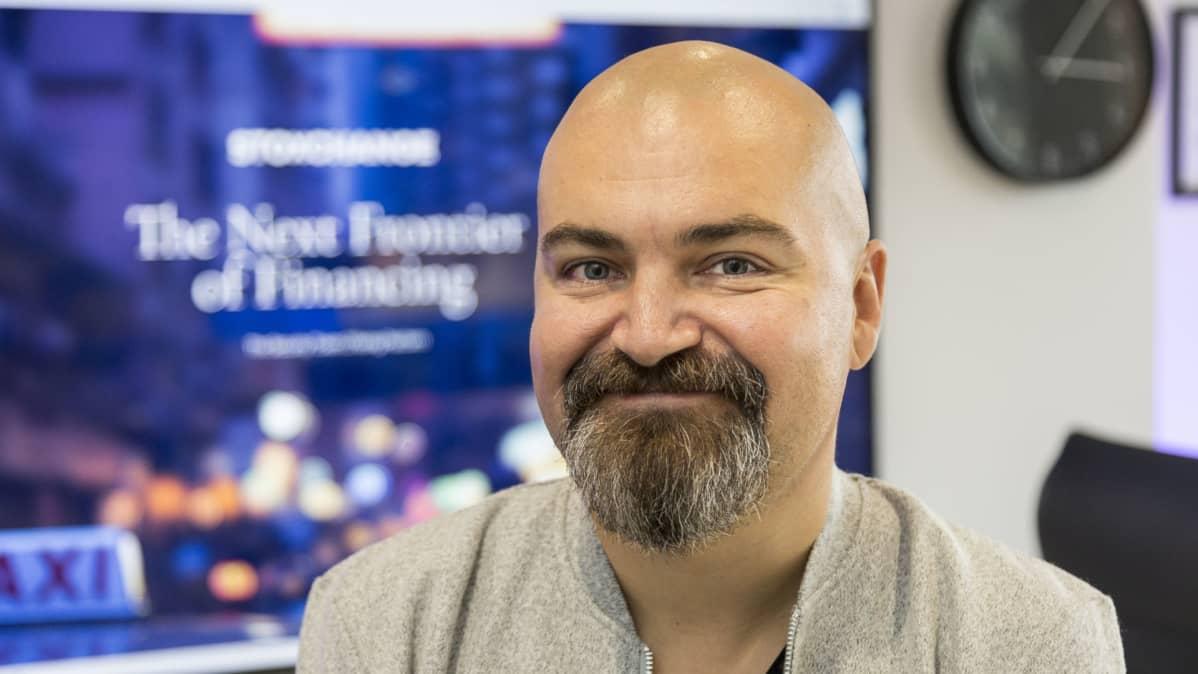 Janne Lohvansuu, perustaja, Stoxchange.