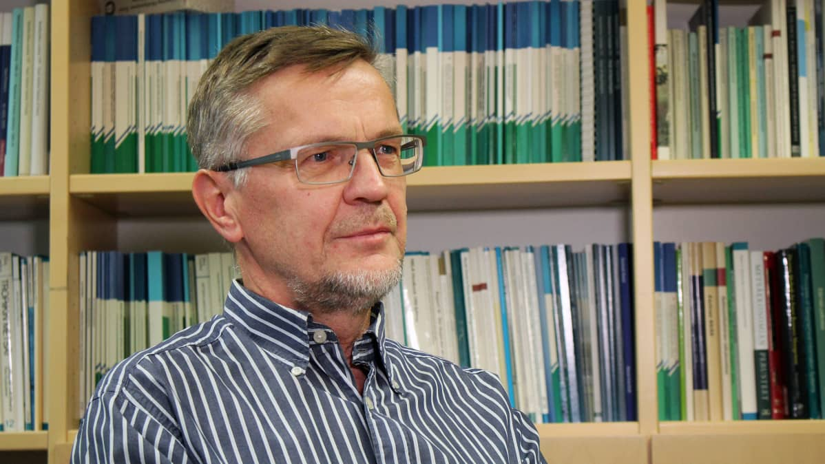 Professori Timo Pukkala.