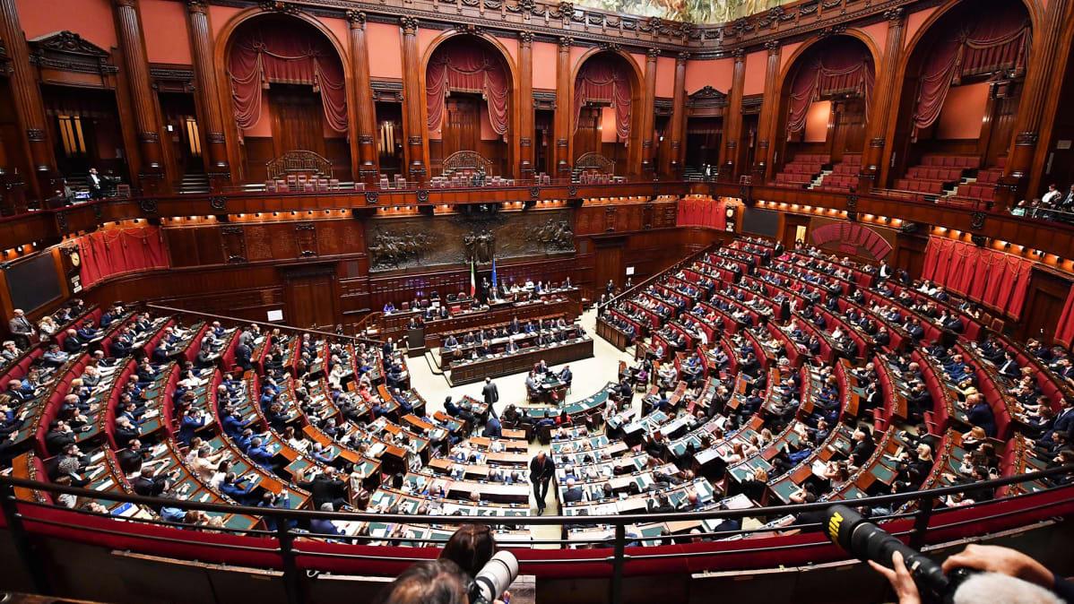 Italian parlamentin alahuone.