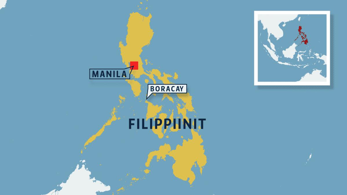 Boracay kartalla