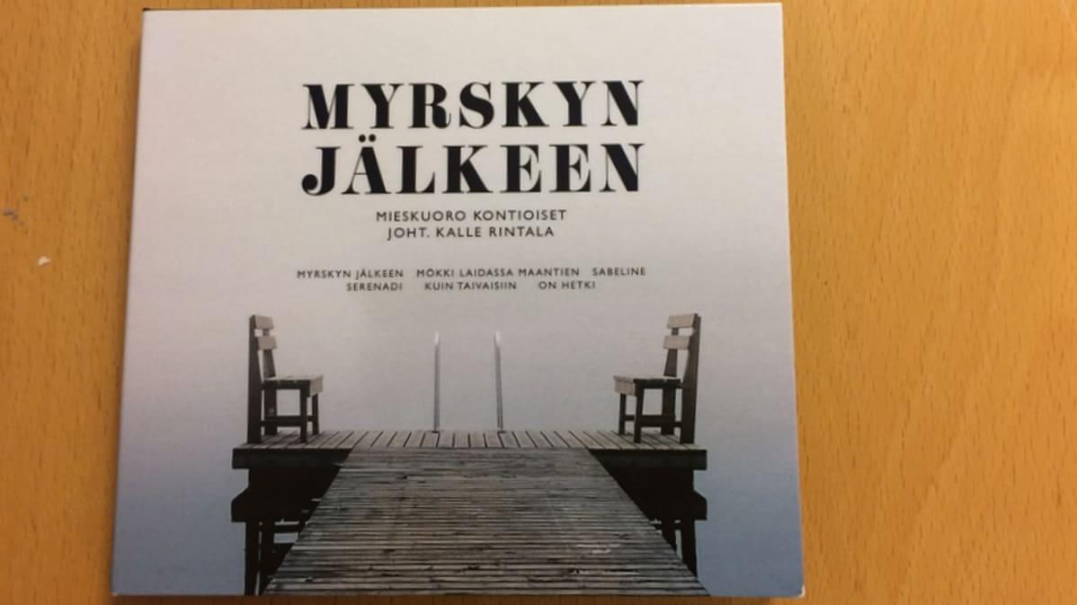 Myrskyn jälkeen cd-levyn kansi.