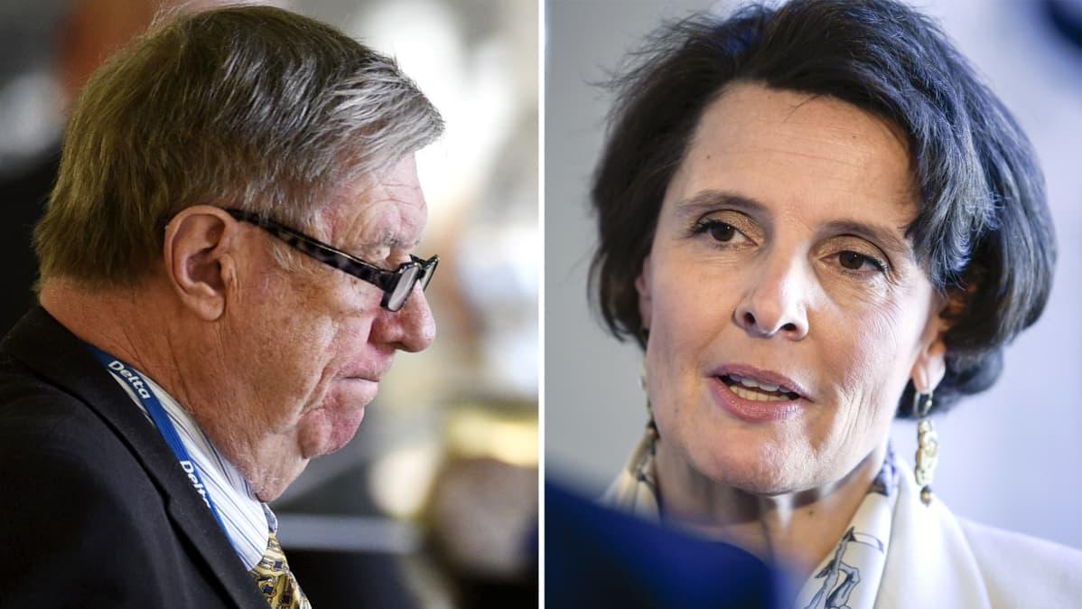 Eero Lehti ja Anne Berner