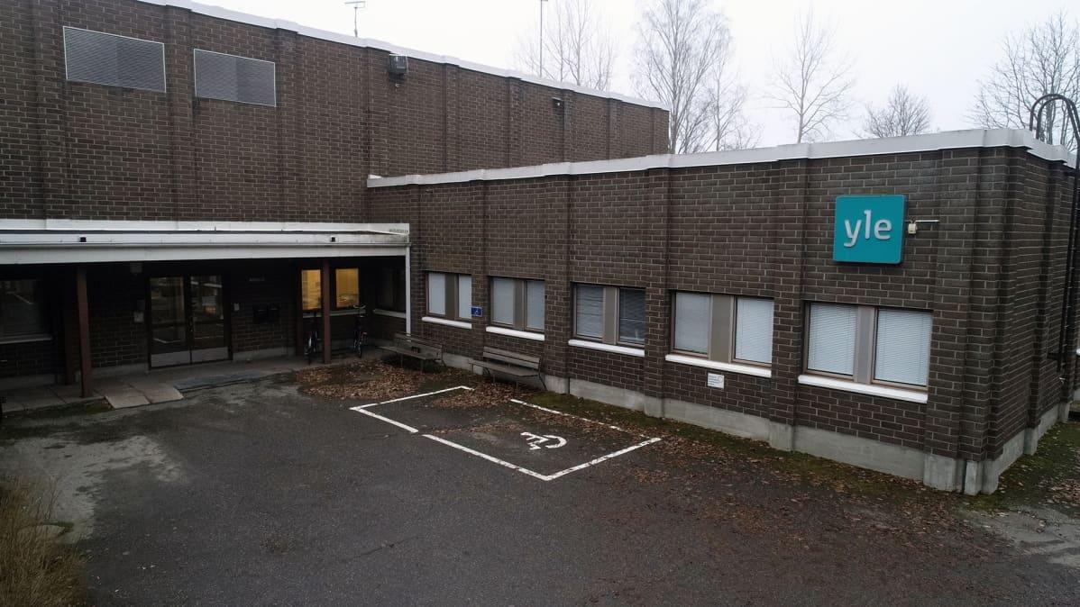Ylen Itä-Suomen toimintakeskus.