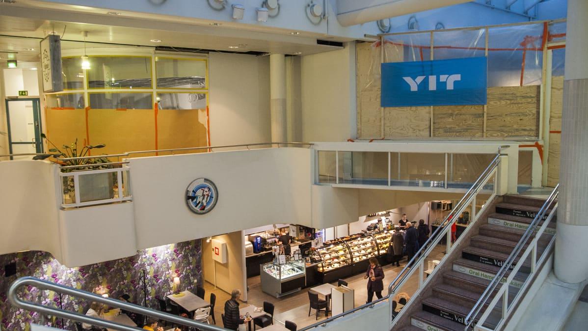 Remontoitavat liiketilat Kuopion liiketalo Sektorissa.