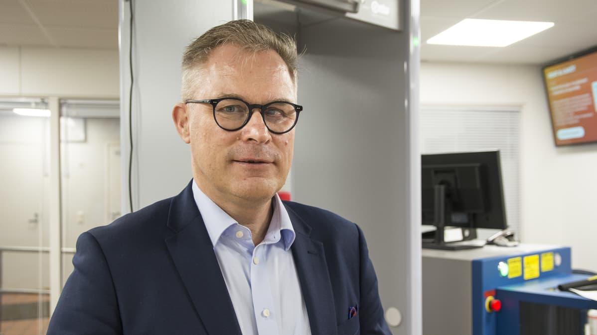 Kainuun käräjäoikeuden laamanni Pekka Määttä.