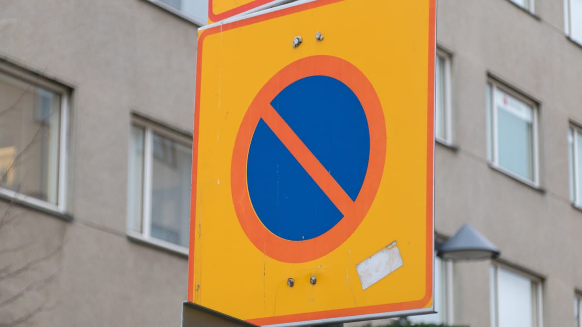 Pysäköintikieltoalue-merkki